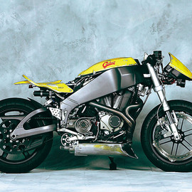 TASTE CONCEPT MOTORCYCLE - BATTLE-CYCLONE 01 / BUELL XB 12R