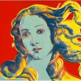 Andy Warhol - The Birth of Venus RED