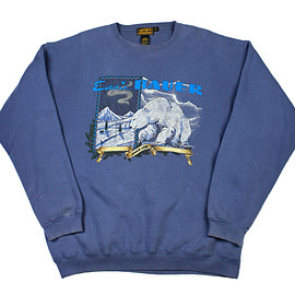 Eddie Bauer - Vintage 90s Eddie Bauer Poler Bear Crewneck Sweatshirt Made in USA Mens Size XL