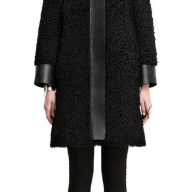 Acne - Temple fur black