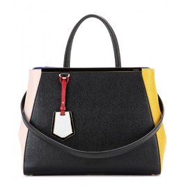 FENDI - 2Jours leather tote