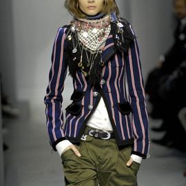 BALENCIAGA - FW2007 RTW collection Stole & 'School Blazer' Jacket