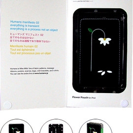 Humans by Mike Mills, INCASE - IPod Case (Flower)