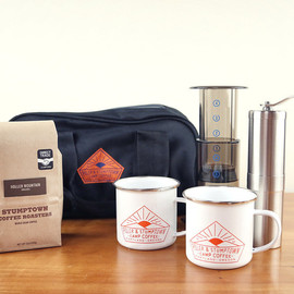POLER X STUMPTOWN CAMP COFFEE KIT