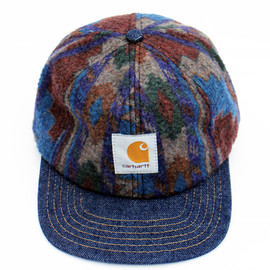 Carhartt - 1990's Deadstock  Acrylic Blanket Snap Back-Made in U.S.A