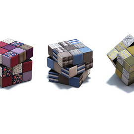 Fabric Rubik's Cubes - by Quad Studio