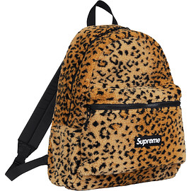 Supreme - Supreme Leopard Fleece Backpack
