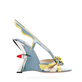 PRADA - 2012 SS Hot Rod sandal