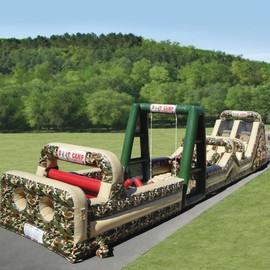 ?? - Inflatable-Military-Obstacle-Course