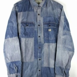 RALPH LAUREN DENIM&SUPPLY - PATCHWORK Chambray SHIRTS