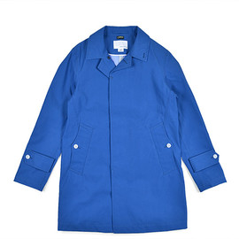 nanamica - GORE TEX Soutien Collar Coat-Reef Blue