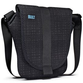 BUILT - Messanger Bag for iPad (Graphite Grid)  by Aaron Lown And John Roscoe Swartz