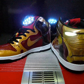 Nike - Iron Man Dunks (Customs)