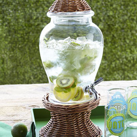 """Willow"" - Glass Beverage Dispenser"