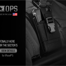 Element Case, VZ Grips - Sector 5 (Black Ops Edition)  for iPhone 5