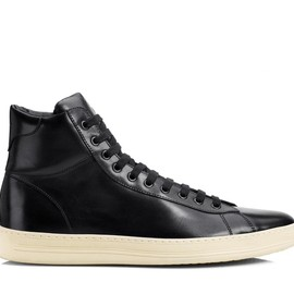 Tom Ford - Russel Leather High Top Sneaker