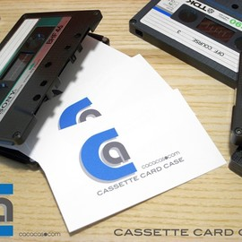 Sony - Cassette Card Case