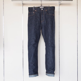 YAECA - Seamless Slim Denim #navy