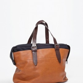Dries Van Noten - LEATHER BAG TAN