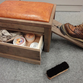 Shoe care box