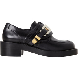 BALENCIAGA - Derby Buckle Shoe