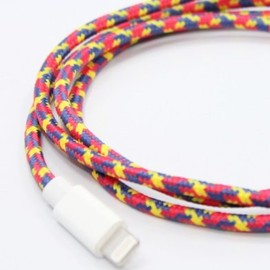 Eastern Collective - Lightning Collective Cable - Confetti - Red/Yellow/Blue