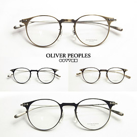OLIVER PEOPLES - OLIVERPEOPLES/オリバーピープルズ/SHAWFIELD/チタンボストンメガネ/度付きメガネ/伊達メガネ