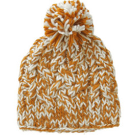 karen walker - Pom Pom Hat (caramel with cream)