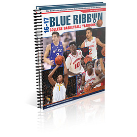 Blue Ribbon Sports - 2016-17 College Basketball Yearbook - Spiral Bound