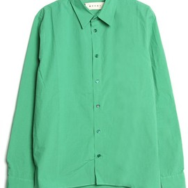 Marni - L/S POLO NECK SHIRT