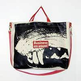 Barbara Kruger - Business As Usual Canvas Tote Bag-Printed Matter, Inc.