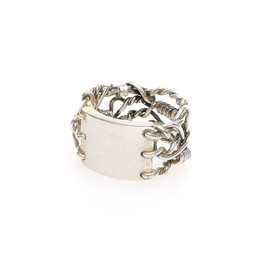 Mason Martin Margiela - hand-crafted chain wire and plate ring