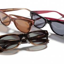 OLIVER PEOPLES × POKER FACE 【ULMAN】color. clear khaki 47□23