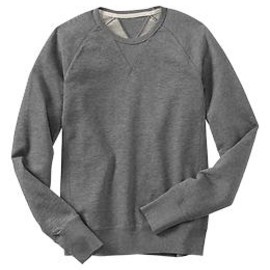 GAP - Lived-in crew pullover(heather grey)