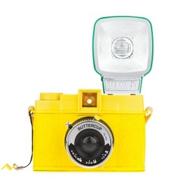 Lomography - Diana F+ Camera - Buttercup