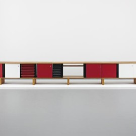 "Charlotte Perriand - Unique monumental ""Bahut"" sideboard, 1965"