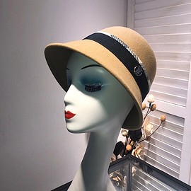 Burberry - Burberry Wool Hat In Camel