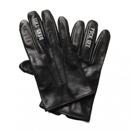 HECTIC - Leather 'Fuck Off' Glove