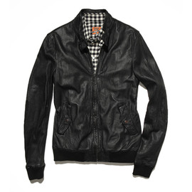 BAND OF OUTSIDERS - Harrington Leather Jacket