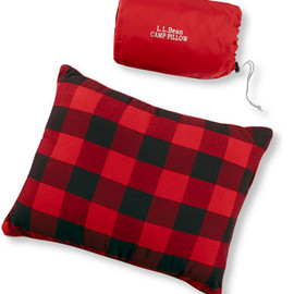 L.L.Bean - Flannel Camp Pillow