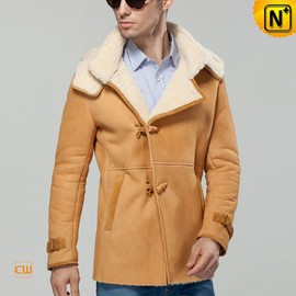 cwmalls - Shearling Sheepskin Mens Jacket CW877133