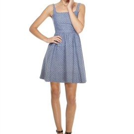 MARC BY MARC JACOBS - dotty chambrey dress