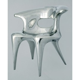 Faye Lingui - Stylish chair - stainless steel