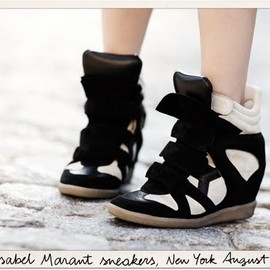 ISABEL MARANT - Wedge Sneaker