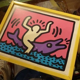 "Keith Haring - 「""Keith Haring""POSTER&FRAME 1000yen」完売"