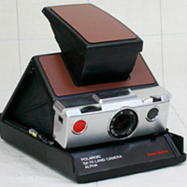 "POLAROID - SX-70 LAND CAMERA ALPHA ""Sears Special"""