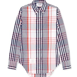 Thom Browne Longsleeve pc shirt caroline plaid