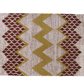 Fairisle Rug - Neutral/Brown