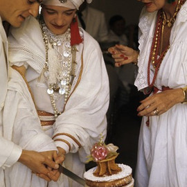 Loulou de la Falaise's wedding