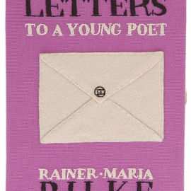 Olympia Le-tan - 'Letters To A Young Poet' clutch